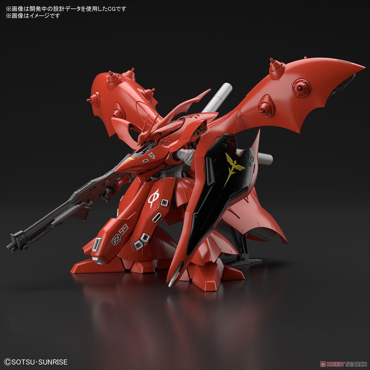 【再販】HG 1/144『ナイチンゲール』逆襲のシャア プラモデル-012