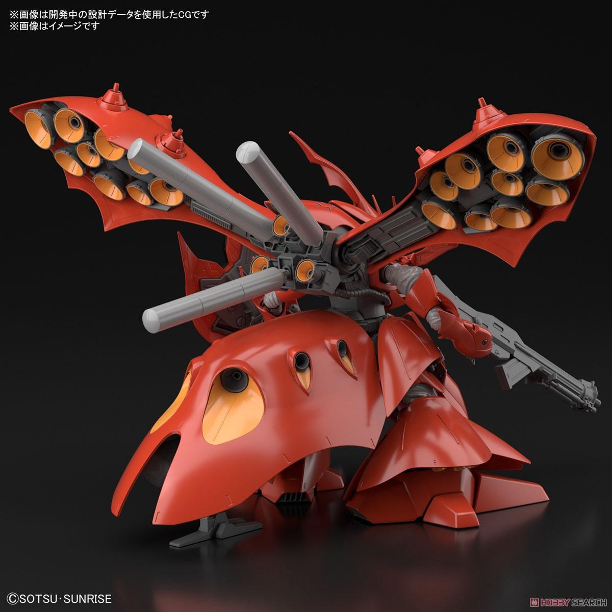 【再販】HG 1/144『ナイチンゲール』逆襲のシャア プラモデル-013