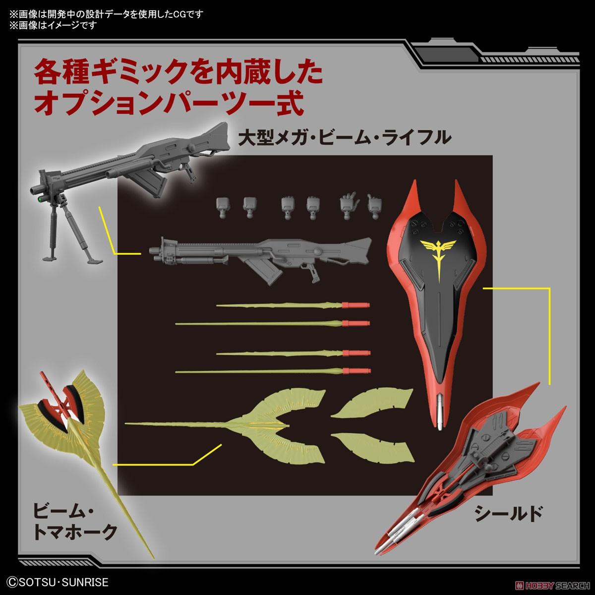 【再販】HG 1/144『ナイチンゲール』逆襲のシャア プラモデル-015