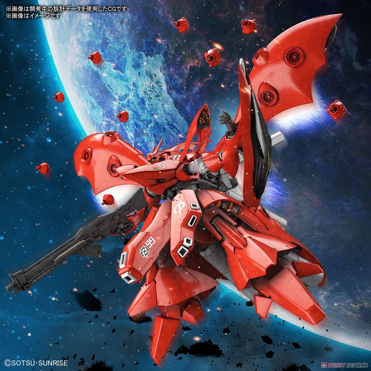 【再販】HG 1/144『ナイチンゲール』逆襲のシャア プラモデル-016