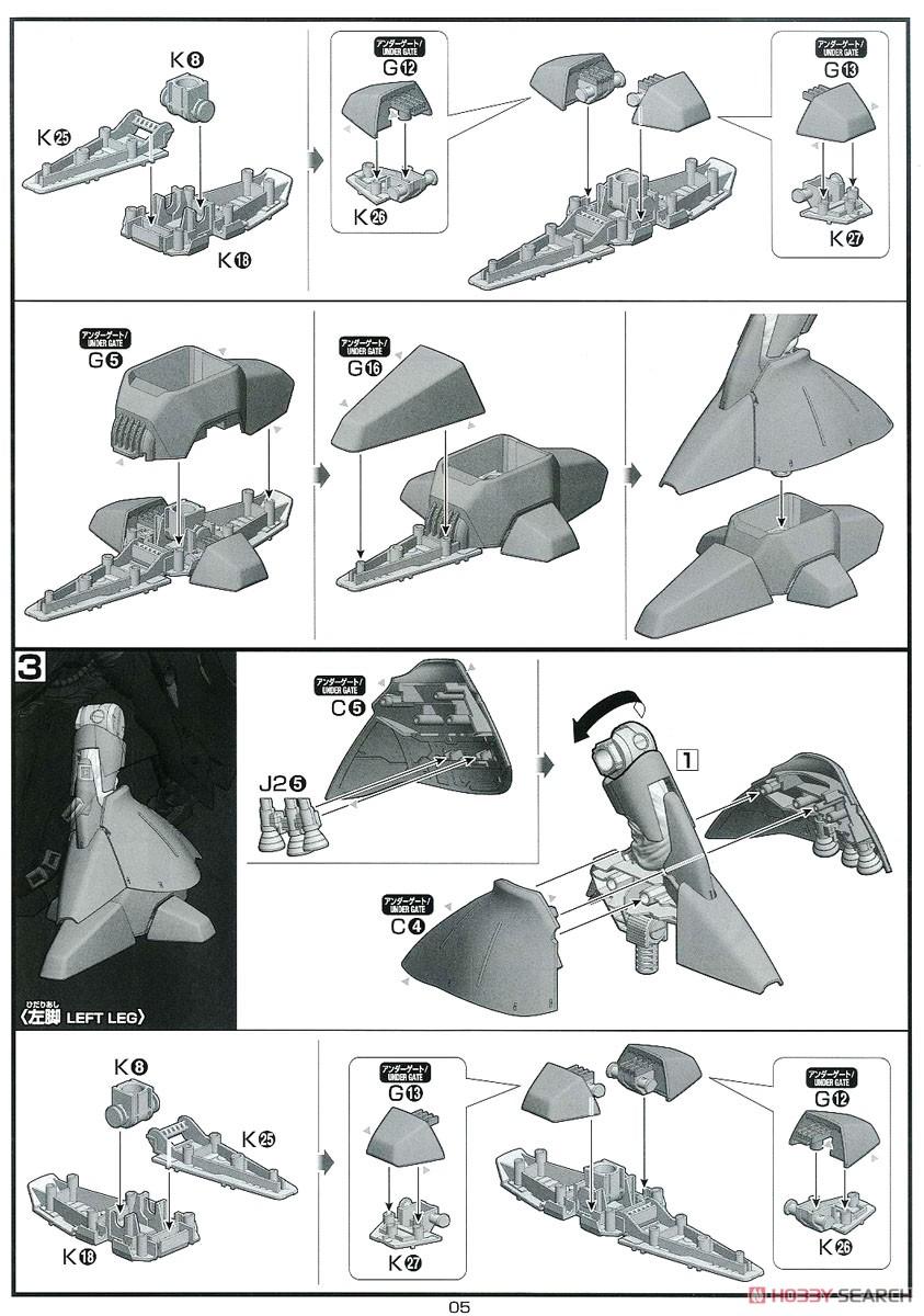 【再販】HG 1/144『ナイチンゲール』逆襲のシャア プラモデル-029