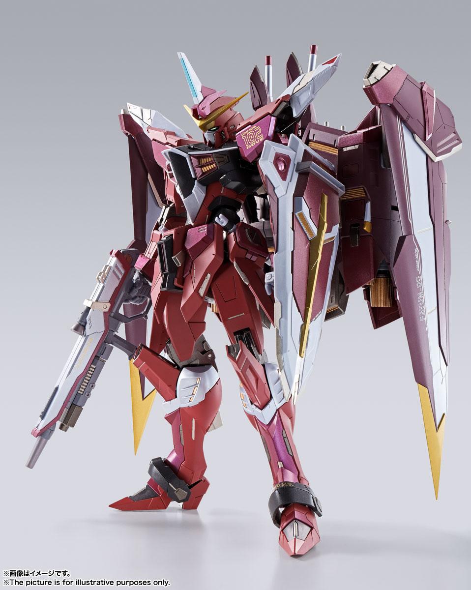 METAL BUILD『ジャスティスガンダム』機動戦士ガンダムSEED 可動フィギュア-001