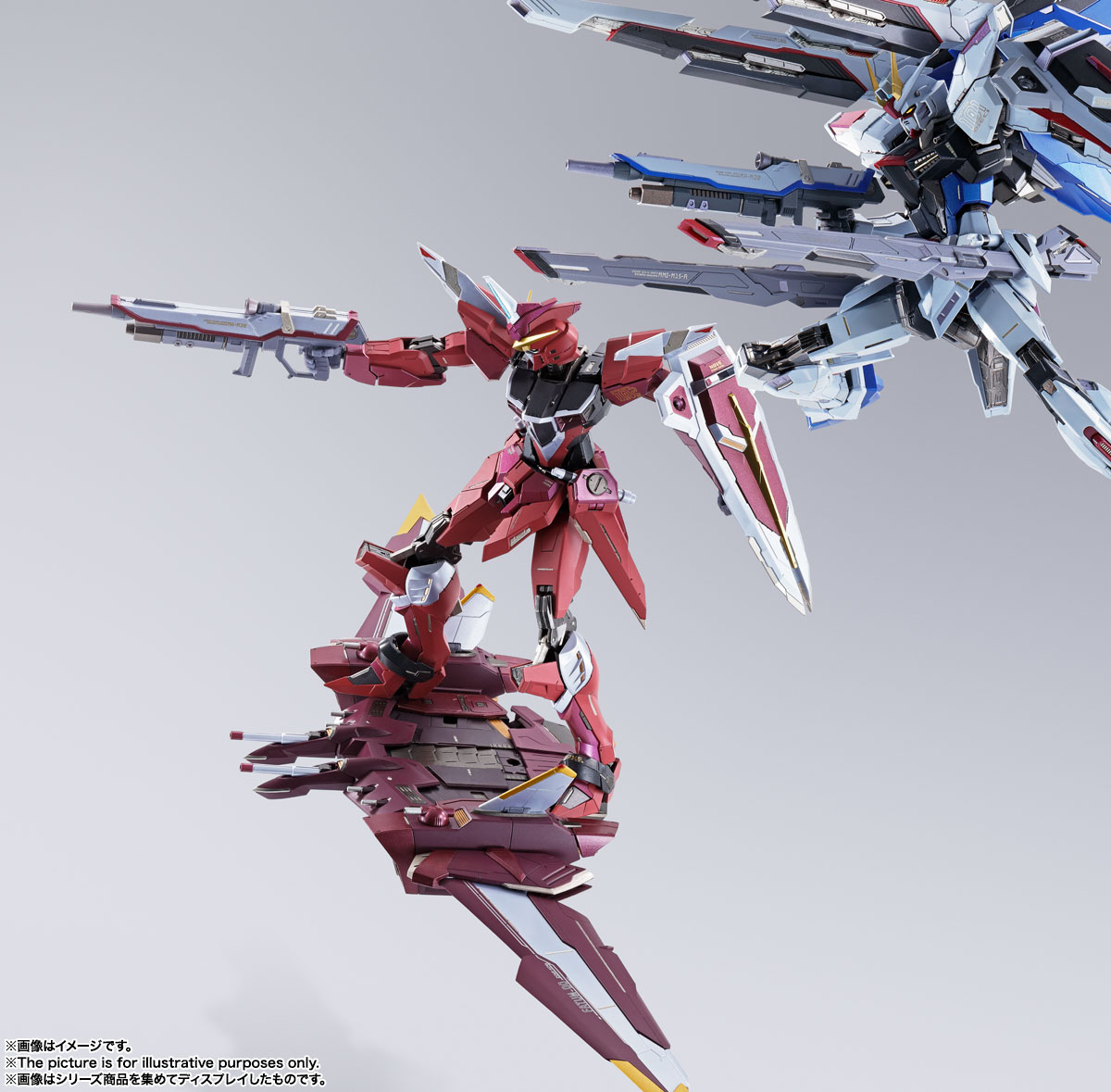 METAL BUILD『ジャスティスガンダム』機動戦士ガンダムSEED 可動フィギュア-011