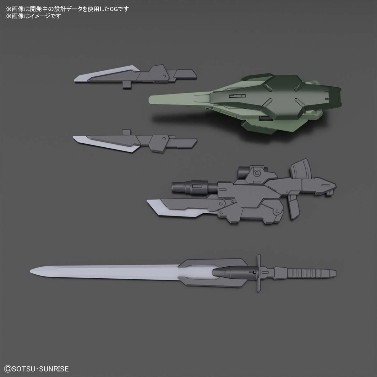 HG 1/144『ガンダムダブルオーコマンドクアンタ』ガンダムブレイカー バトローグ プラモデル-005