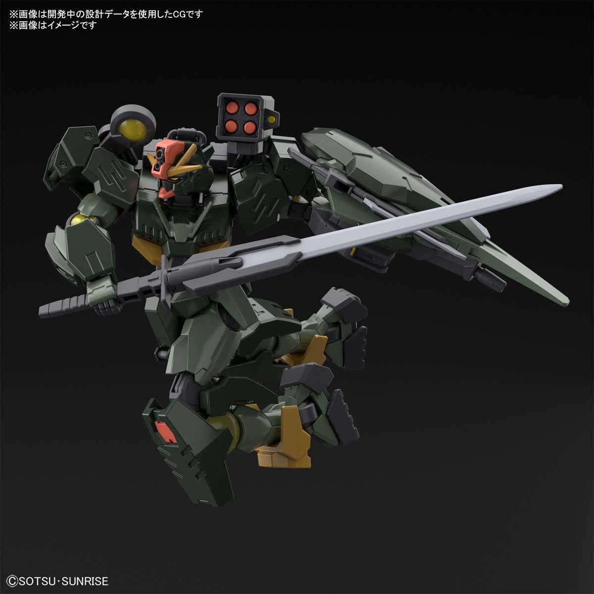 HG 1/144『ガンダムダブルオーコマンドクアンタ』ガンダムブレイカー バトローグ プラモデル-007