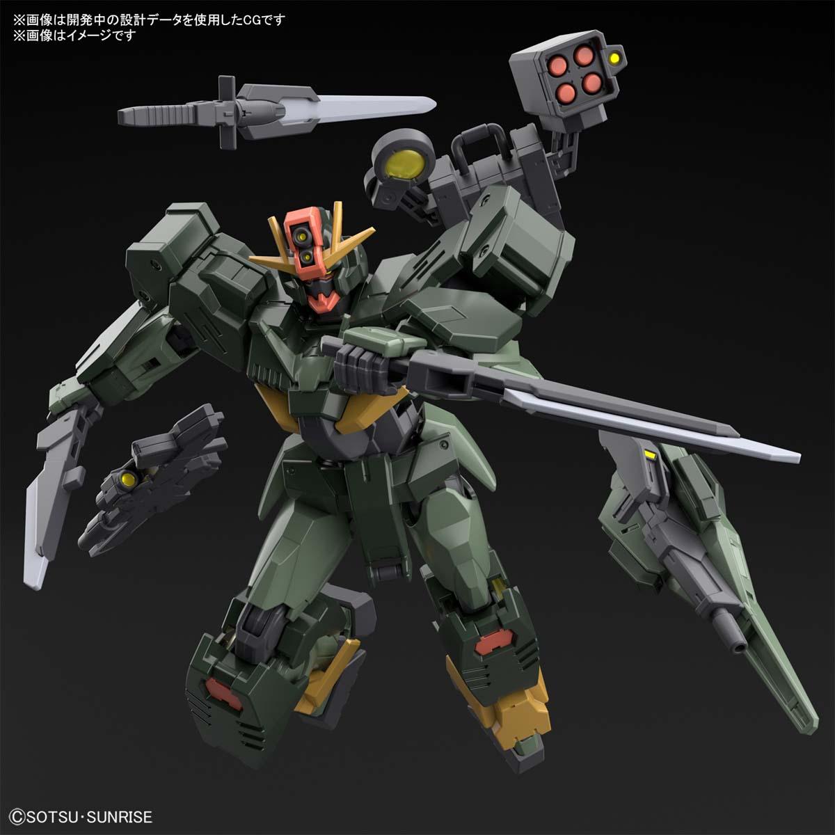 HG 1/144『ガンダムダブルオーコマンドクアンタ』ガンダムブレイカー バトローグ プラモデル-008