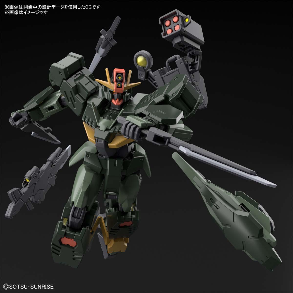 HG 1/144『ガンダムダブルオーコマンドクアンタ』ガンダムブレイカー バトローグ プラモデル-009