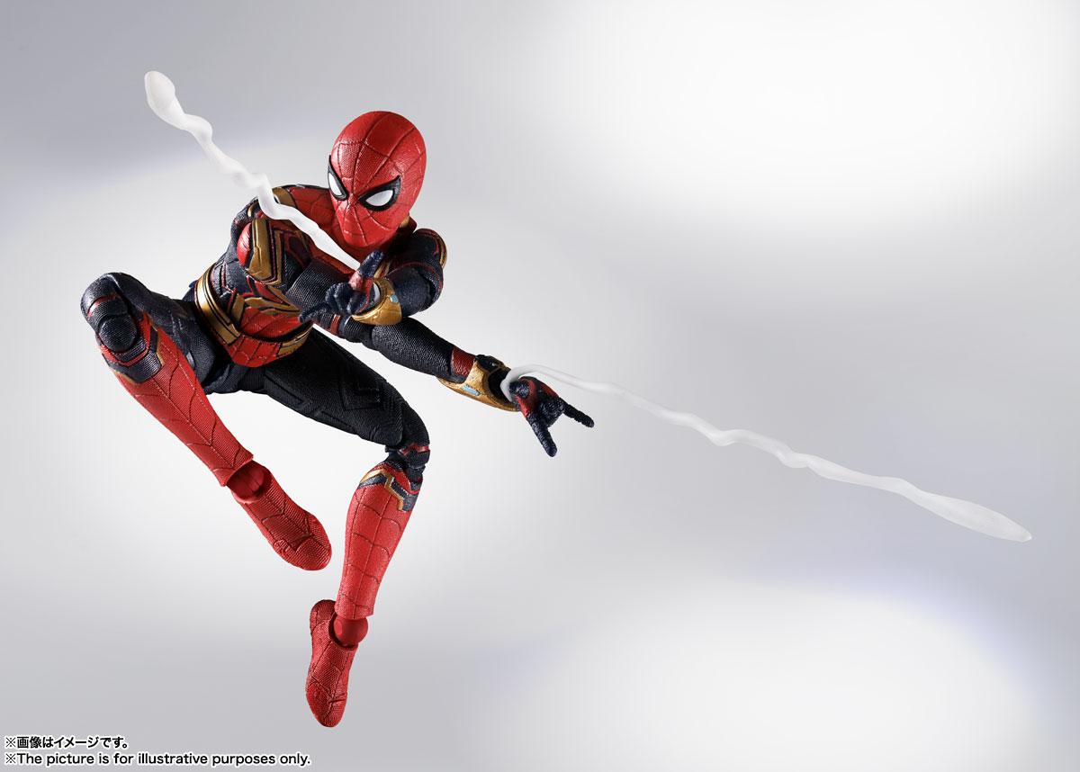 S.H.Figuarts『スパイダーマン[ブラック&ゴールドスーツ]』スパイダーマン: ノー・ウェイ・ホーム 1/6 可動フィギュア-015