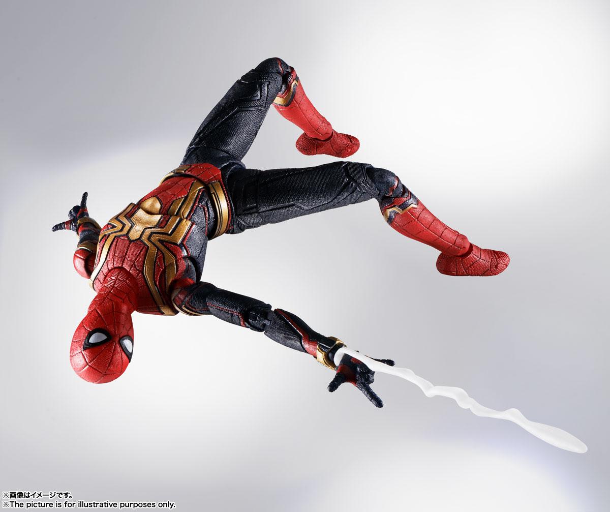 S.H.Figuarts『スパイダーマン[ブラック&ゴールドスーツ]』スパイダーマン: ノー・ウェイ・ホーム 1/6 可動フィギュア-016
