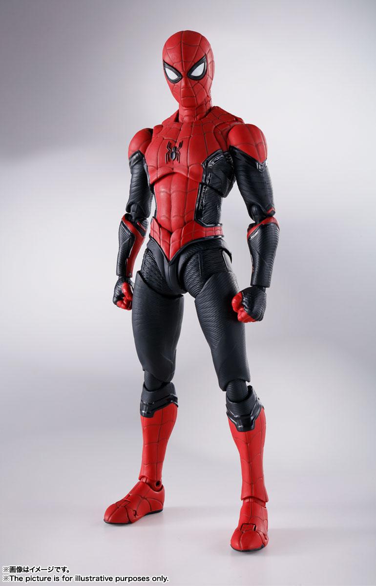 S.H.Figuarts『スパイダーマン[ブラック&ゴールドスーツ]』スパイダーマン: ノー・ウェイ・ホーム 1/6 可動フィギュア-017