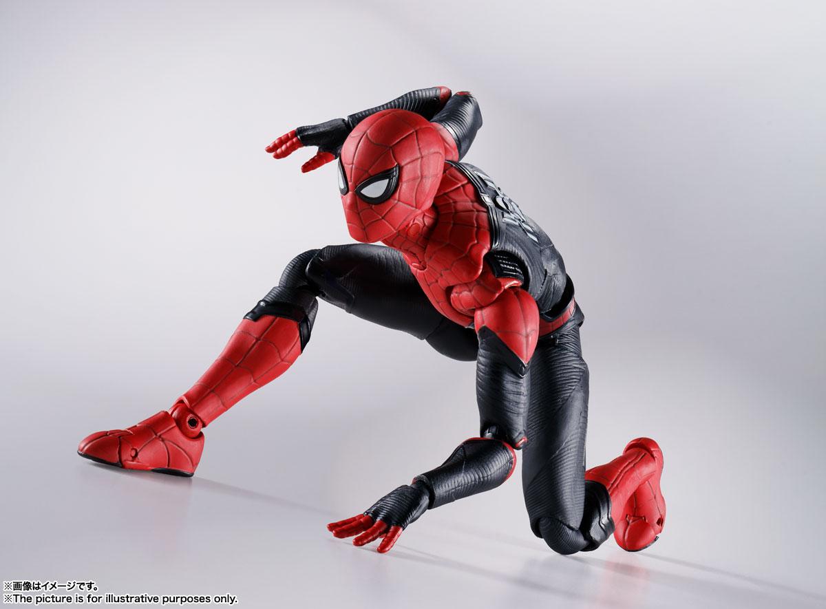 S.H.Figuarts『スパイダーマン[ブラック&ゴールドスーツ]』スパイダーマン: ノー・ウェイ・ホーム 1/6 可動フィギュア-019
