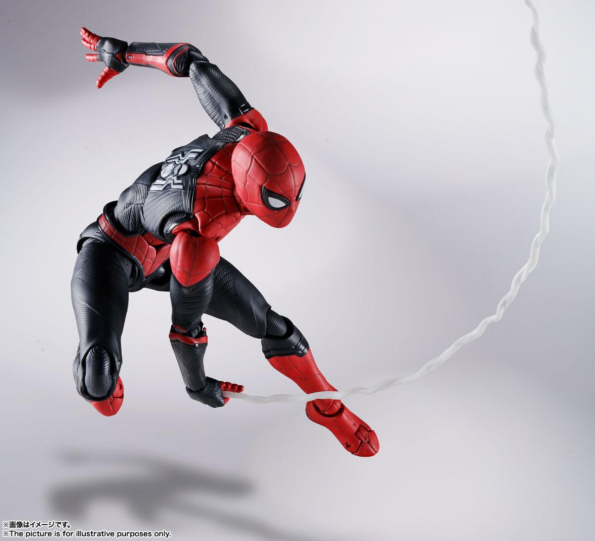 S.H.Figuarts『スパイダーマン[ブラック&ゴールドスーツ]』スパイダーマン: ノー・ウェイ・ホーム 1/6 可動フィギュア-020