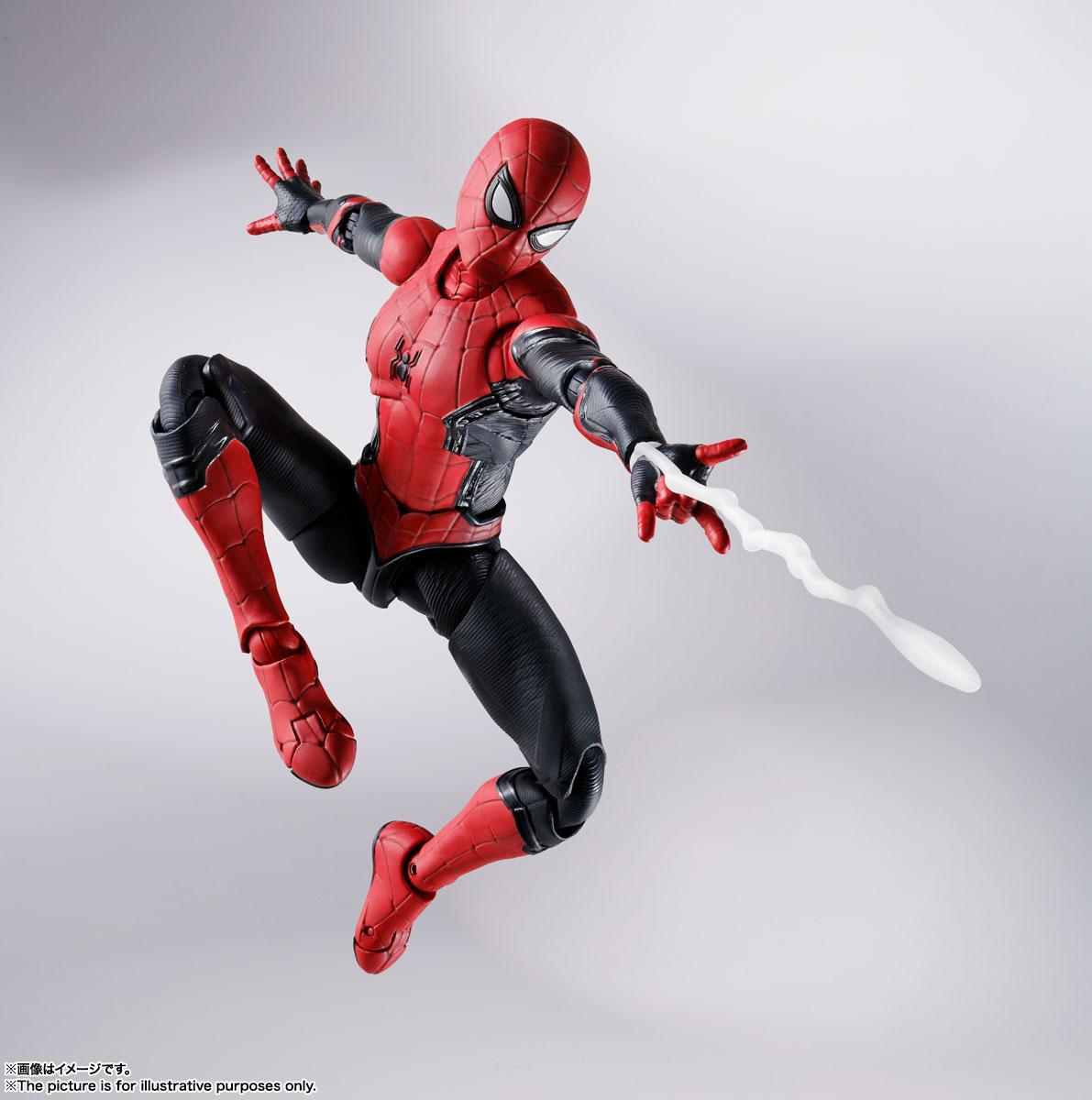 S.H.Figuarts『スパイダーマン[ブラック&ゴールドスーツ]』スパイダーマン: ノー・ウェイ・ホーム 1/6 可動フィギュア-021
