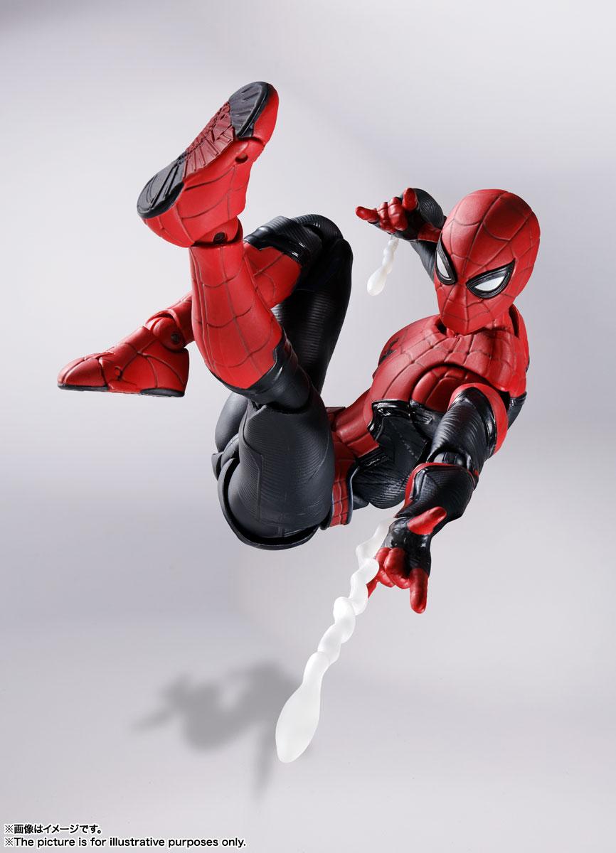 S.H.Figuarts『スパイダーマン[ブラック&ゴールドスーツ]』スパイダーマン: ノー・ウェイ・ホーム 1/6 可動フィギュア-022