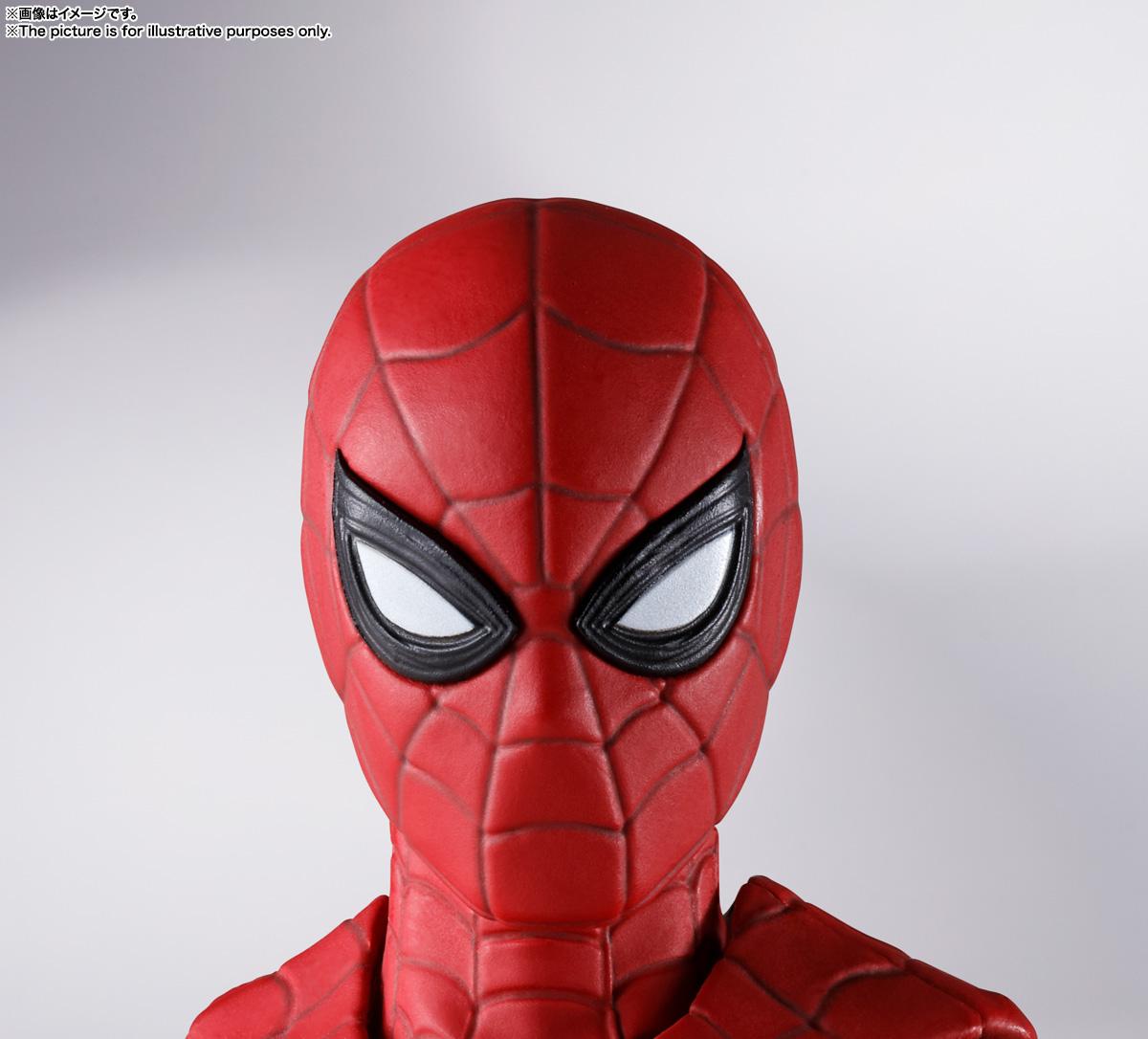 S.H.Figuarts『スパイダーマン[ブラック&ゴールドスーツ]』スパイダーマン: ノー・ウェイ・ホーム 1/6 可動フィギュア-023