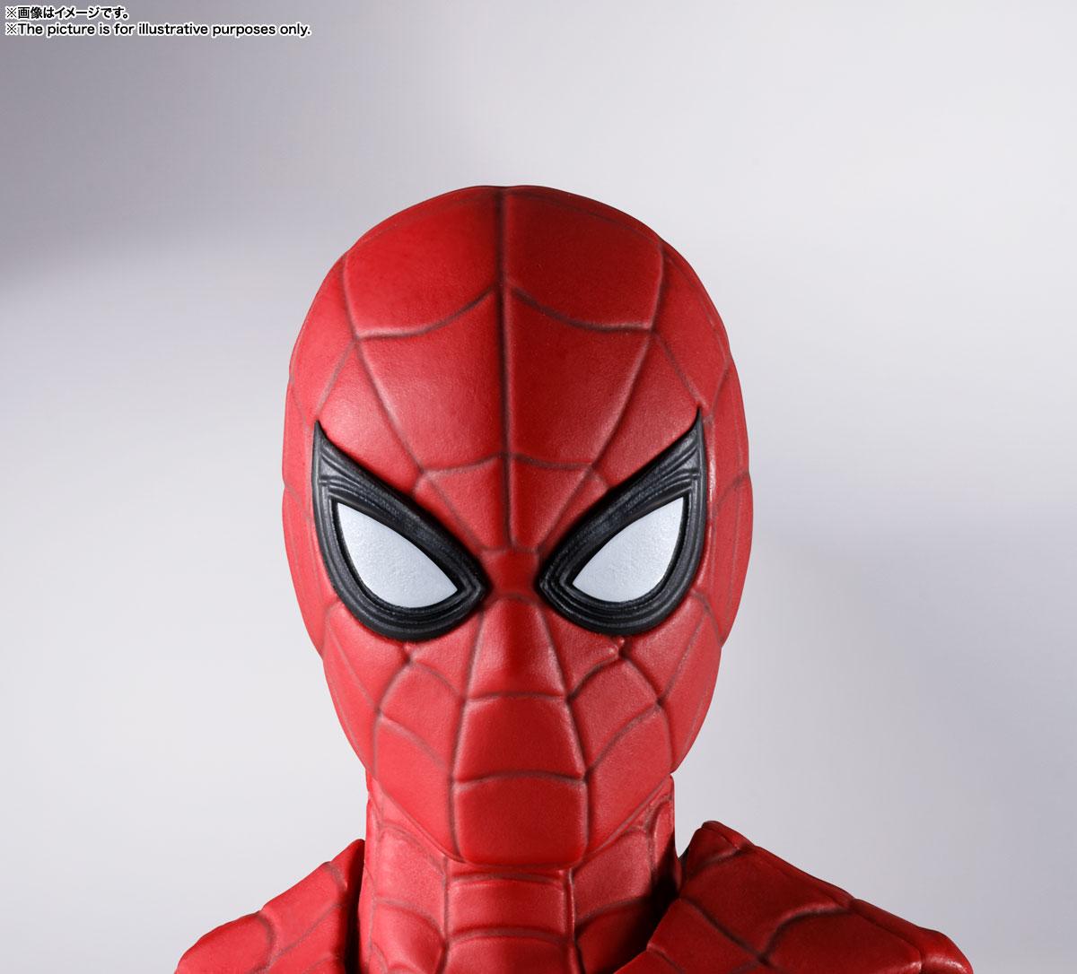 S.H.Figuarts『スパイダーマン[ブラック&ゴールドスーツ]』スパイダーマン: ノー・ウェイ・ホーム 1/6 可動フィギュア-024