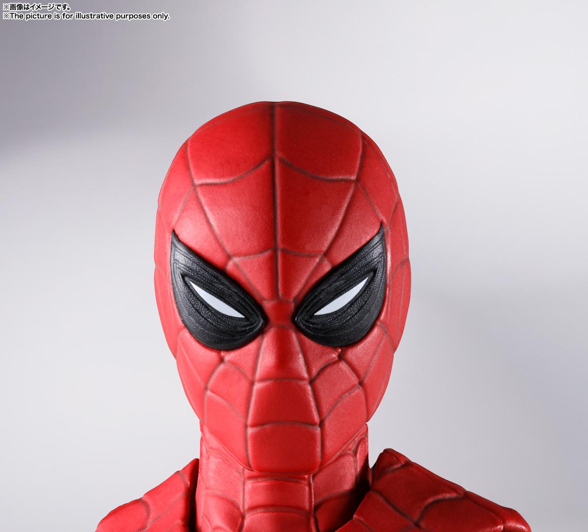 S.H.Figuarts『スパイダーマン[ブラック&ゴールドスーツ]』スパイダーマン: ノー・ウェイ・ホーム 1/6 可動フィギュア-025