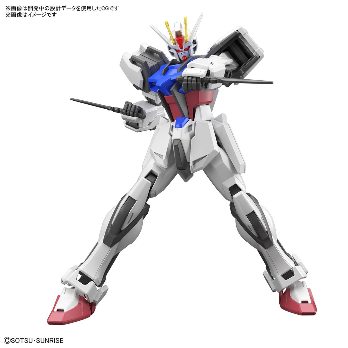 ENTRY GRADE『ストライクガンダム』ガンダムSEED 1/144 プラモデル-003
