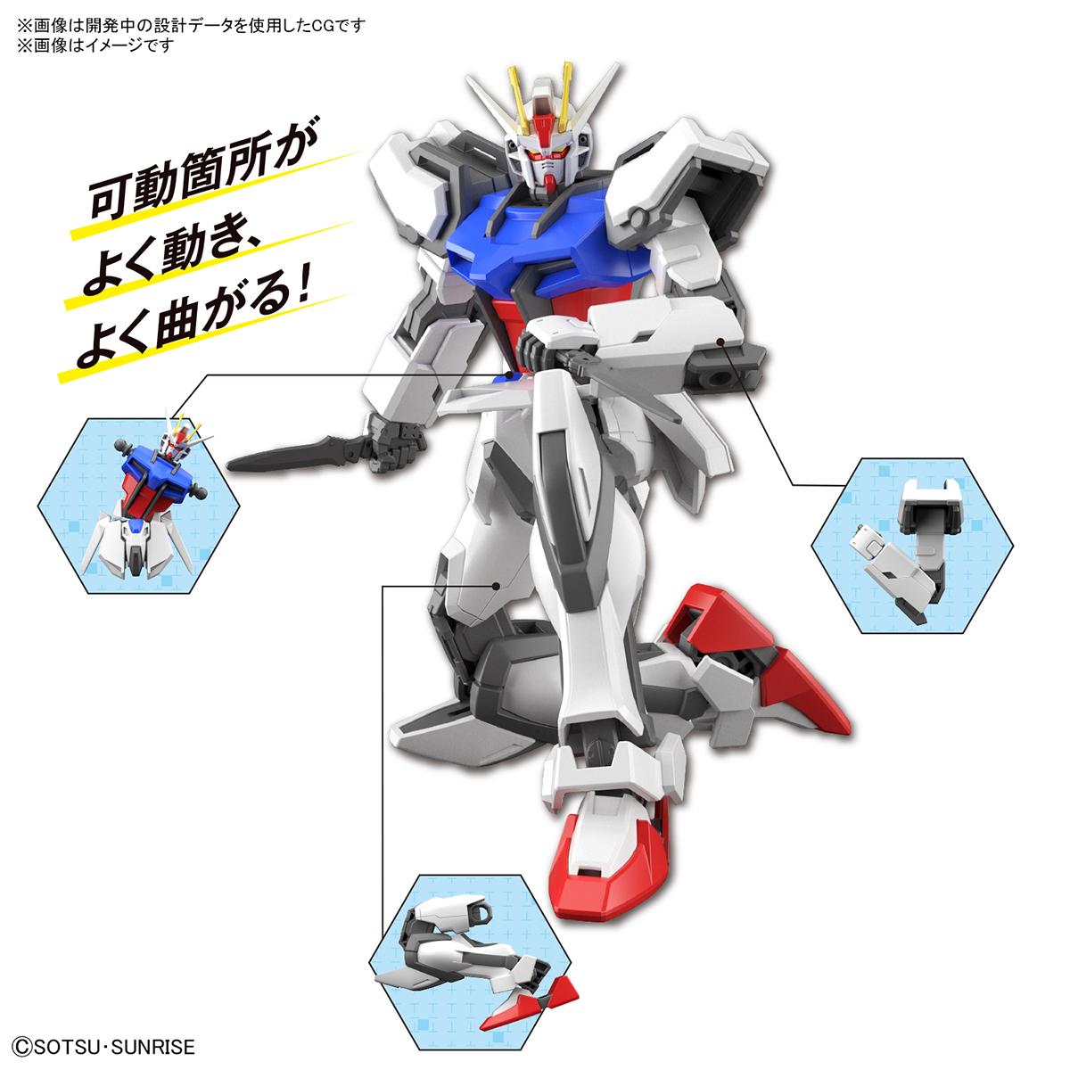 ENTRY GRADE『ストライクガンダム』ガンダムSEED 1/144 プラモデル-005