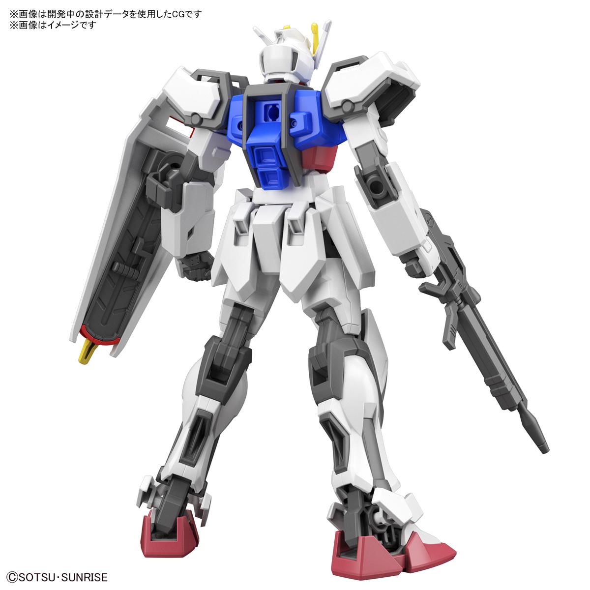 ENTRY GRADE『ストライクガンダム』ガンダムSEED 1/144 プラモデル-008