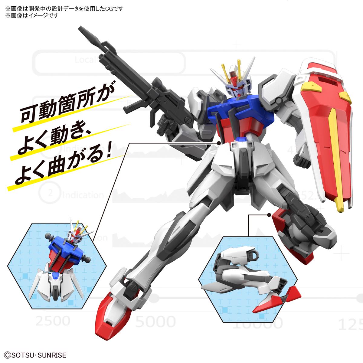 ENTRY GRADE『ストライクガンダム』ガンダムSEED 1/144 プラモデル-011