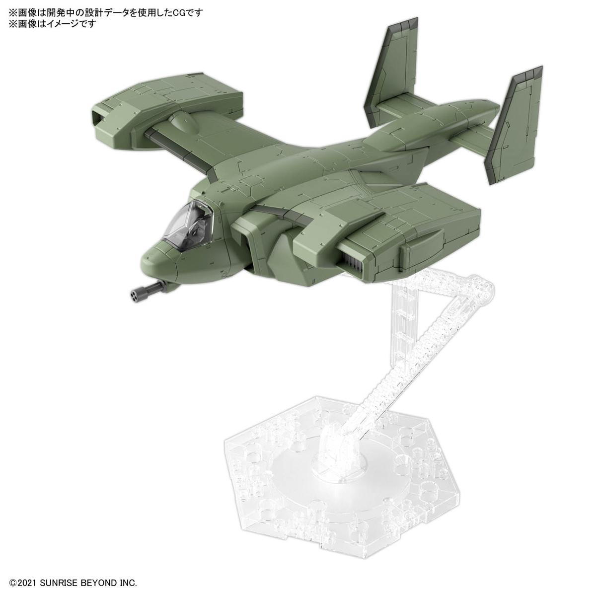 HG 1/72『ブレイディハウンド』境界戦機 プラモデル-007