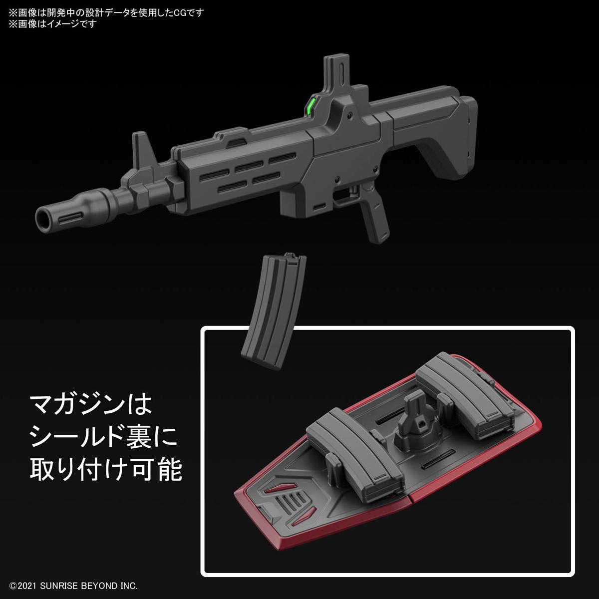 HG 1/72『ブレイディハウンド』境界戦機 プラモデル-017