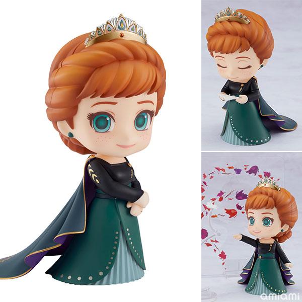 ねんどろいど『アナ Epilogue Dress Ver.』アナと雪の女王2 デフォルメ可動フィギュア
