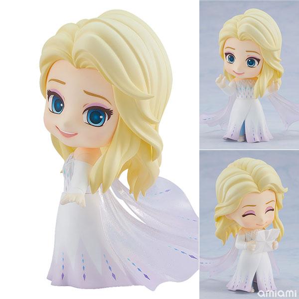 ねんどろいど『エルサ Epilogue Dress Ver.』アナと雪の女王2 デフォルメ可動フィギュア