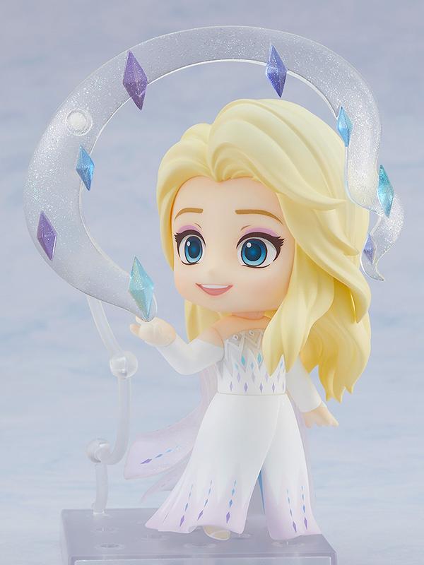 ねんどろいど『エルサ Epilogue Dress Ver.』アナと雪の女王2 デフォルメ可動フィギュア-004