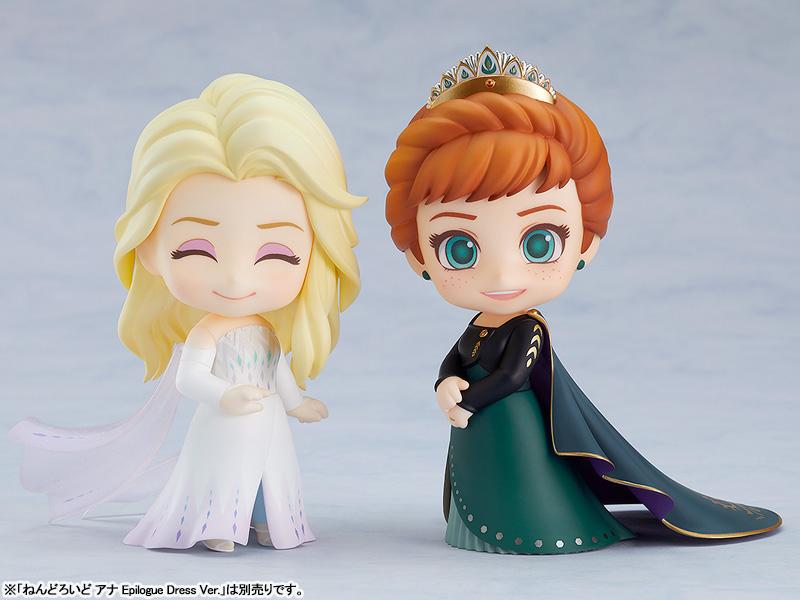 ねんどろいど『エルサ Epilogue Dress Ver.』アナと雪の女王2 デフォルメ可動フィギュア-006