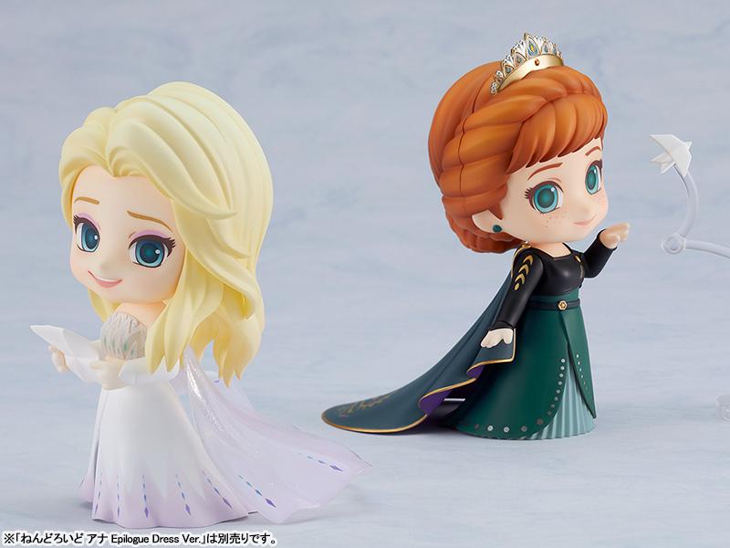 ねんどろいど『エルサ Epilogue Dress Ver.』アナと雪の女王2 デフォルメ可動フィギュア-007