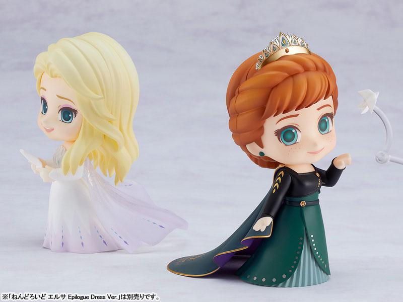 ねんどろいど『エルサ Epilogue Dress Ver.』アナと雪の女王2 デフォルメ可動フィギュア-014