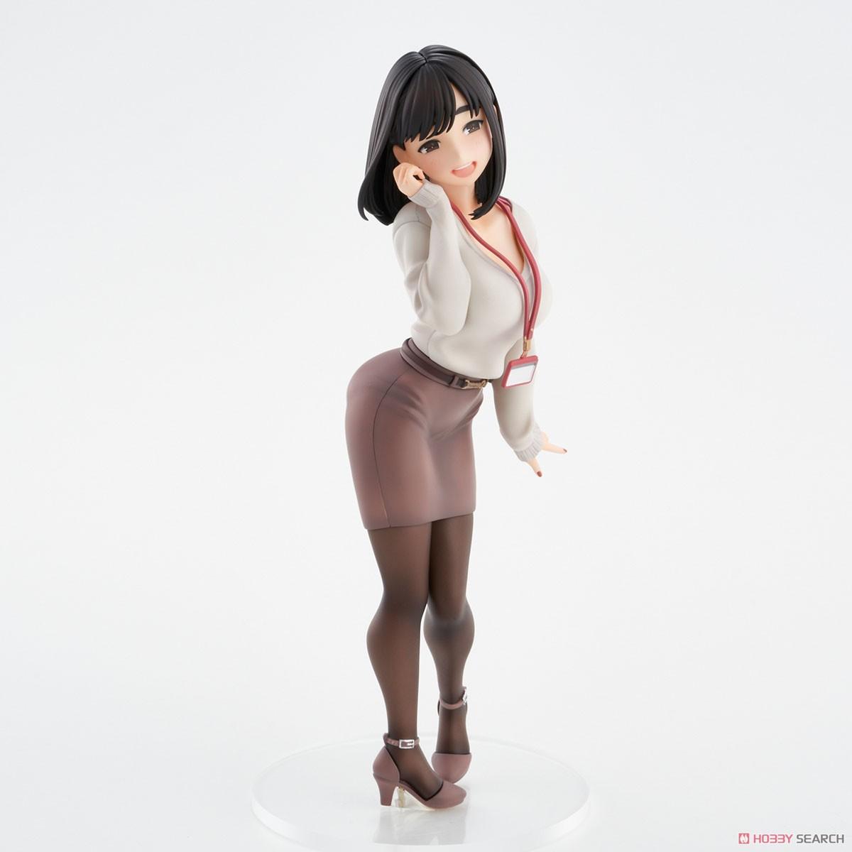 がんばれ同期ちゃん『後輩ちゃん』完成品フィギュア-017
