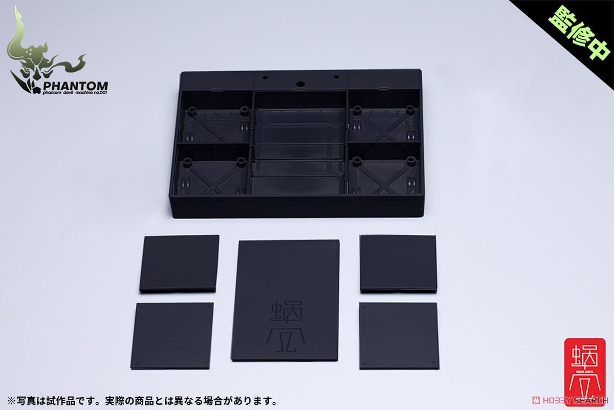 幻鬼機殻『PHANTOM-001 蛍 Hotaru リバースチェンジセット』1/12 可動フィギュア-016