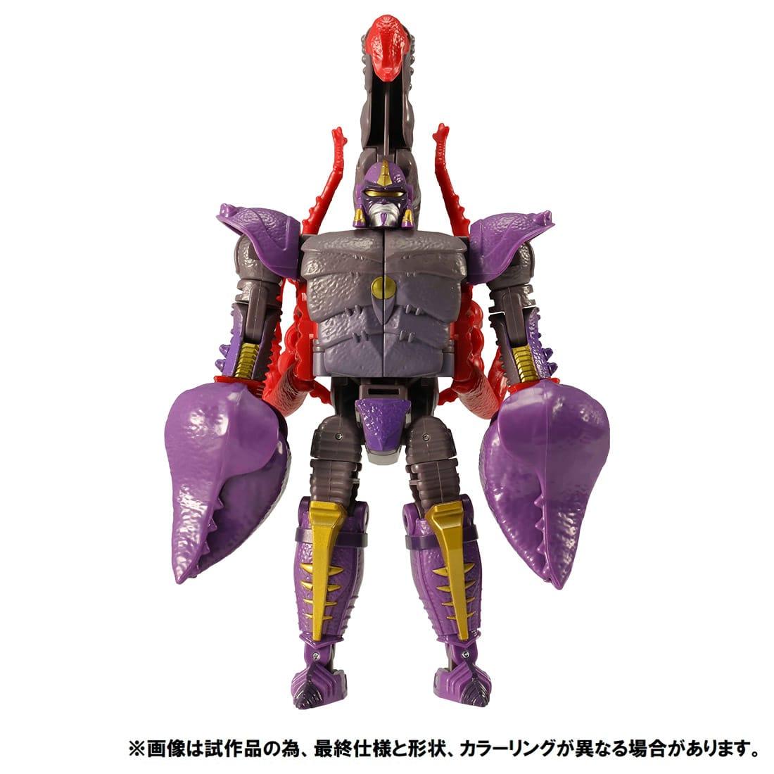 トランスフォーマー キングダム『KD-17 スコルポノック』可変可動フィギュア-006