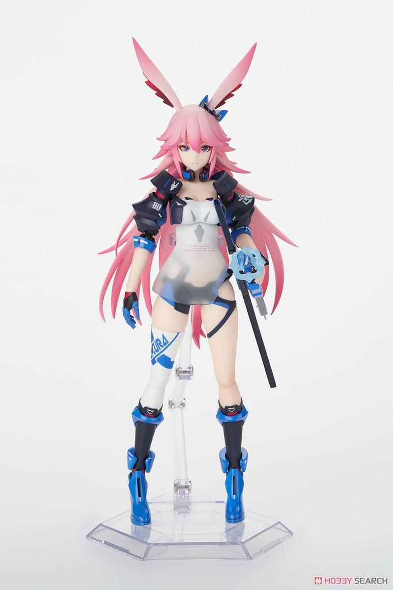 ARCTECHシリーズ『八重桜 御神装・勿忘』崩壊3rd 1/8 可動フィギュア-001