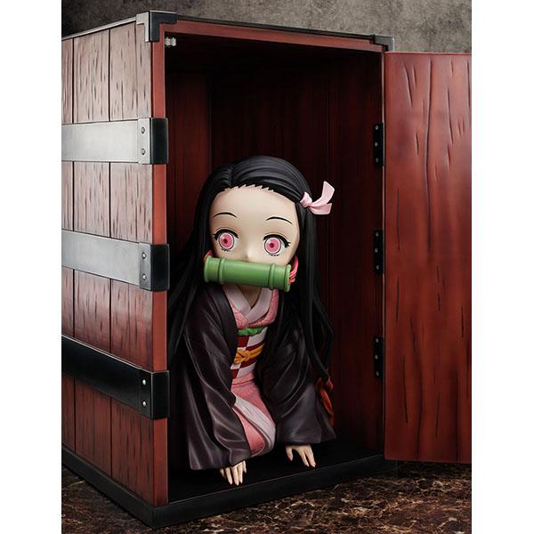 【限定販売】鬼滅の刃『箱入り禰豆子 びっぐさいずフィギュア』完成品フィギュア