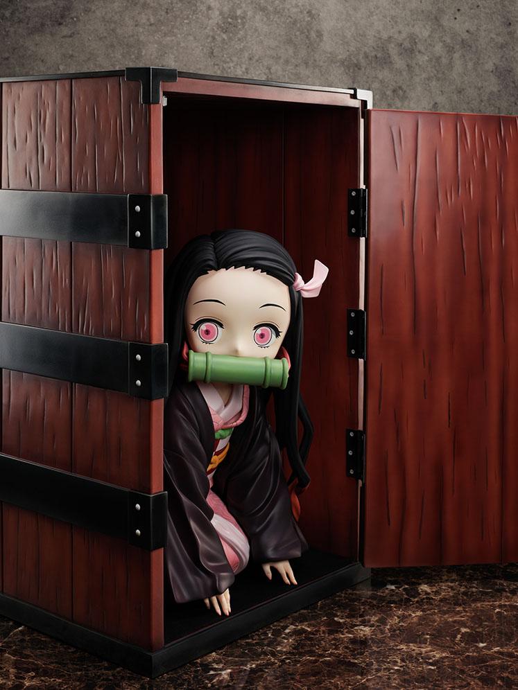 【限定販売】鬼滅の刃『箱入り禰豆子 びっぐさいずフィギュア』完成品フィギュア-015