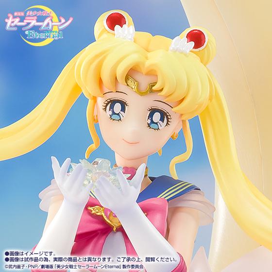 【限定販売】Figuarts Zero chouette『スーパーセーラームーン-Bright Moon & Legendary Silver Crystal-』美少女戦士セーラームーンEternal 完成品フィギュア-006