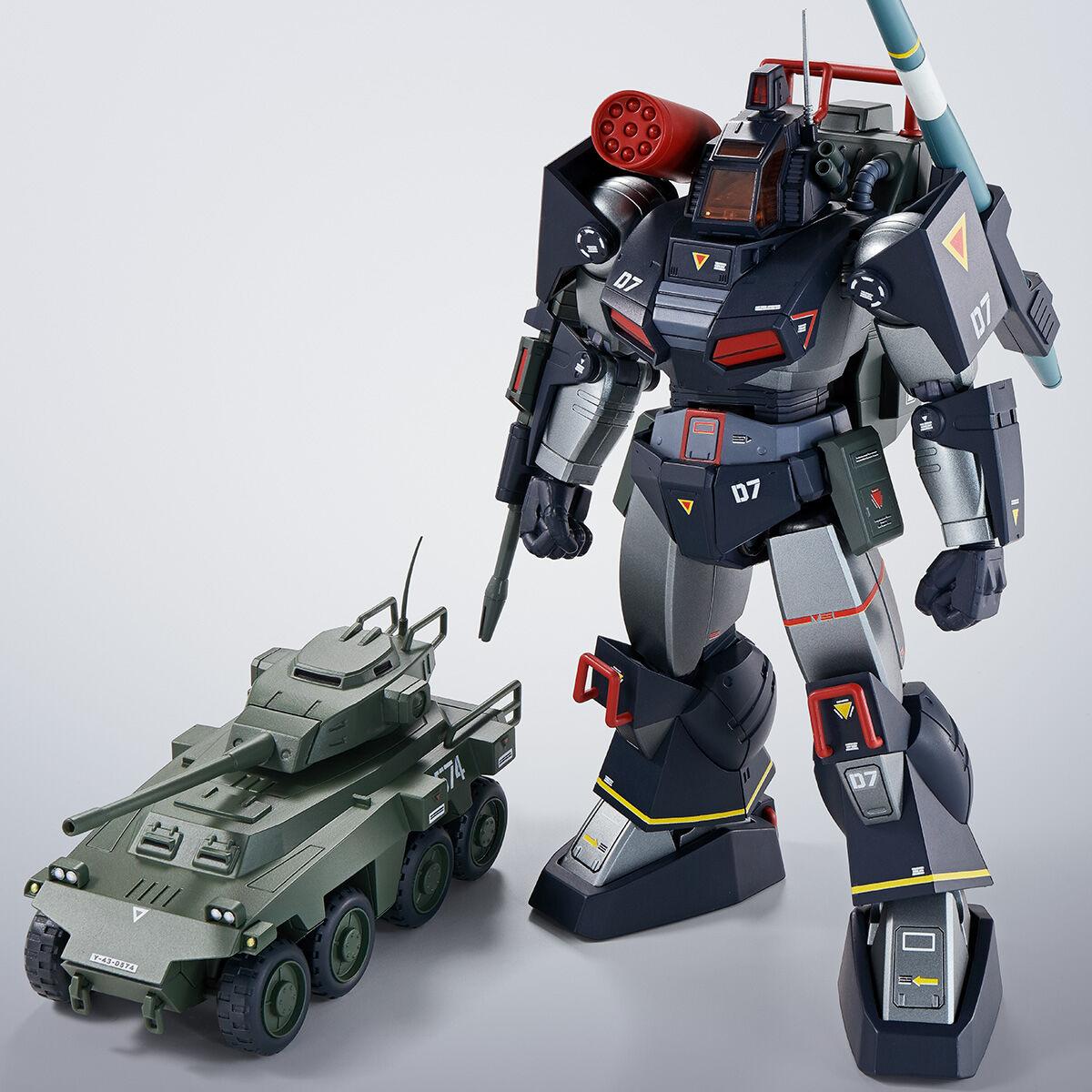 【限定販売】HI-METAL R『ダグラム & インステッド 40th Anniv.』太陽の牙ダグラム 可動フィギュア-001