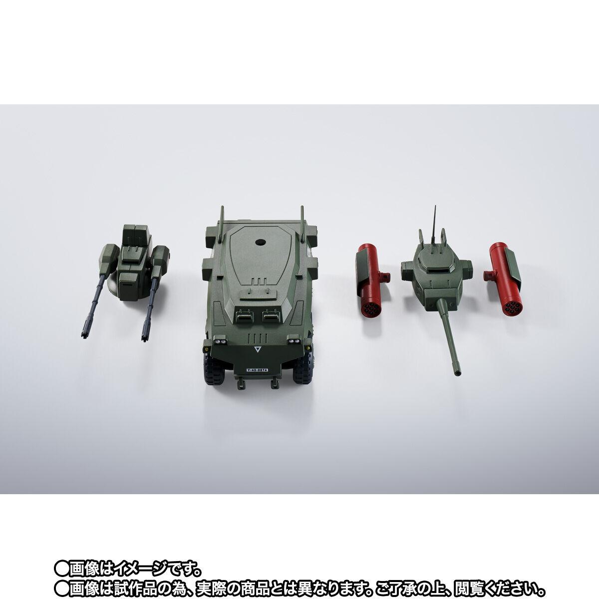 【限定販売】HI-METAL R『ダグラム & インステッド 40th Anniv.』太陽の牙ダグラム 可動フィギュア-009