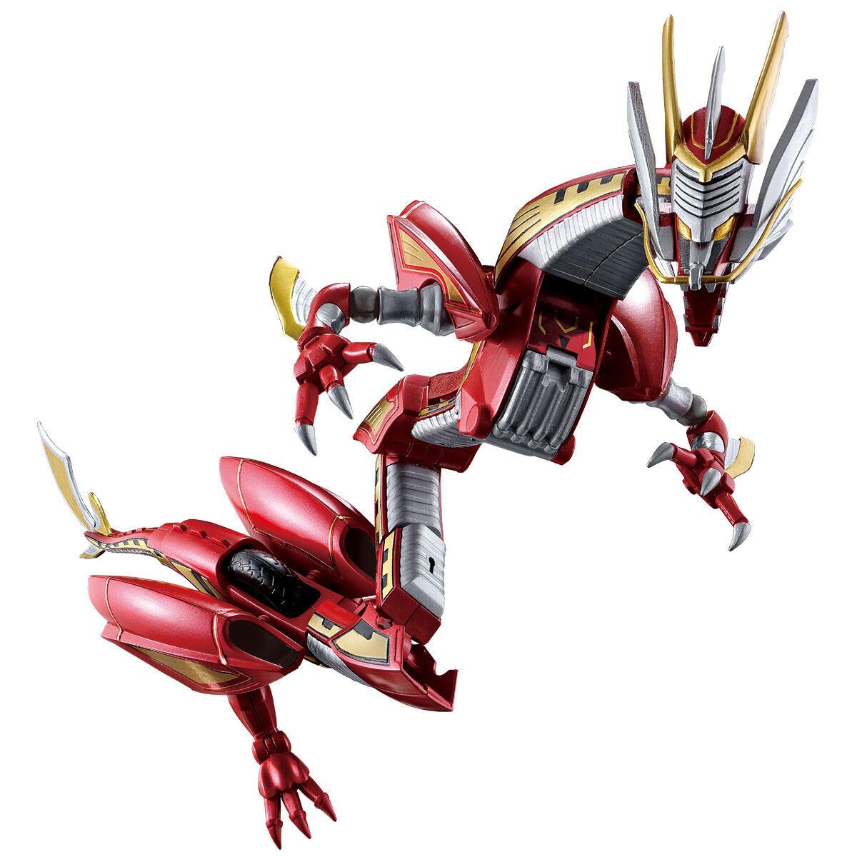 【限定販売】【食玩】SO-DO CHRONICLE『仮面ライダー龍騎 ドラグランザーセット』可動フィギュア-001
