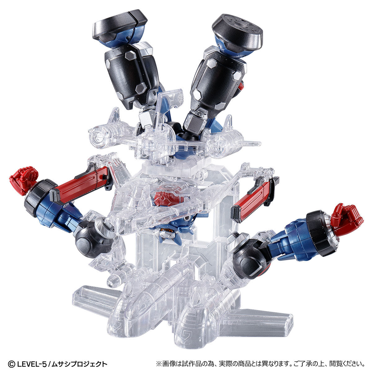【限定販売】超弩級シリーズ『メガトン級ムサシ』可動フィギュア-007