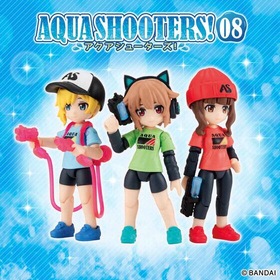 【限定販売】ガシャポン『AQUA SHOOTERS!08』10個入りBOX