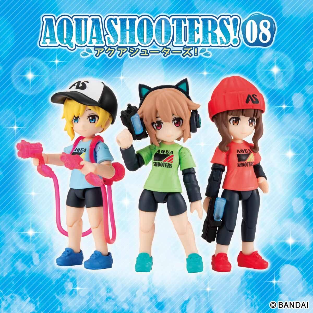 【限定販売】ガシャポン『AQUA SHOOTERS!08』10個入りBOX-001
