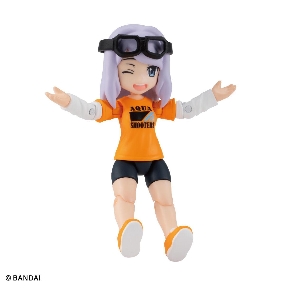 【限定販売】ガシャポン『AQUA SHOOTERS!08』10個入りBOX-009
