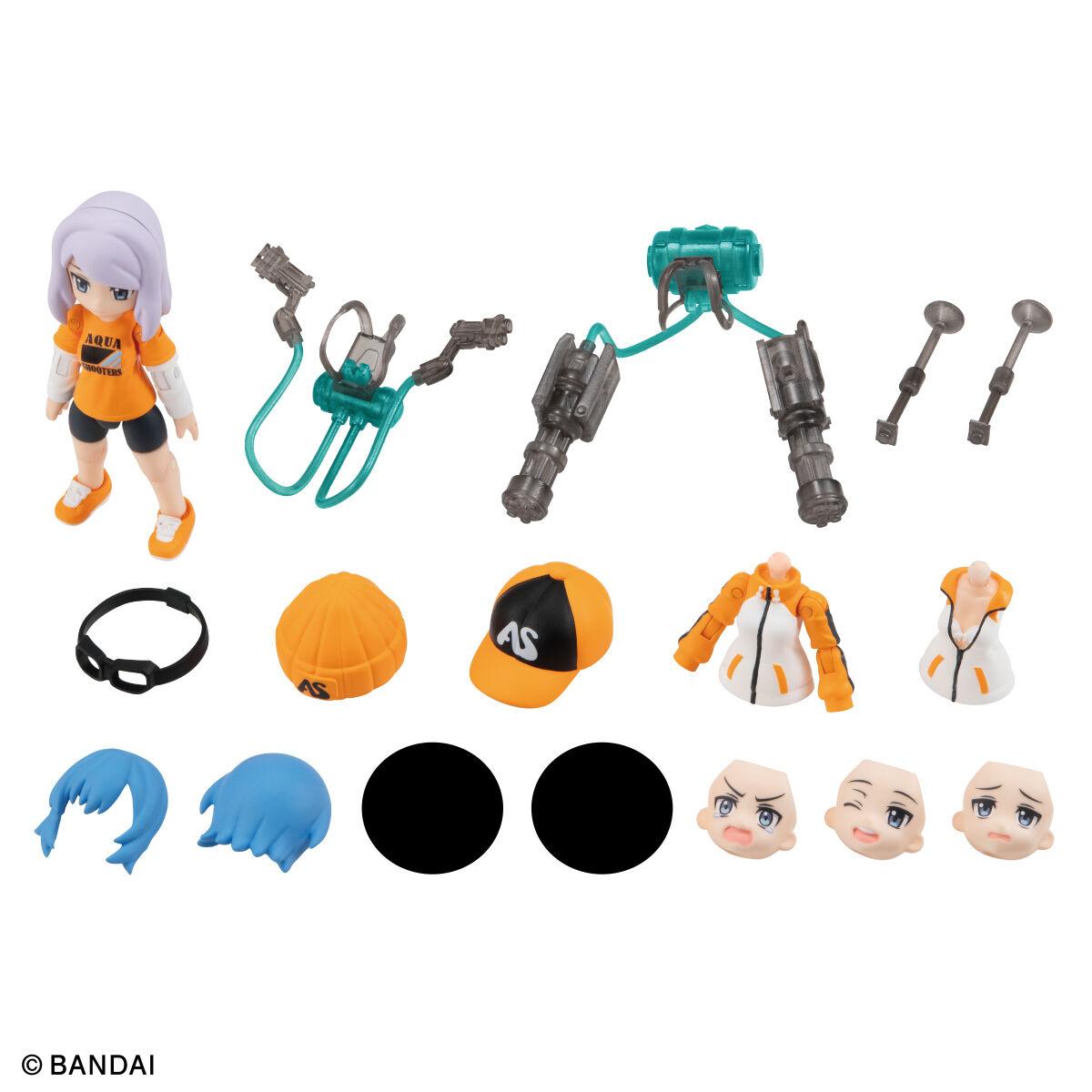 【限定販売】ガシャポン『AQUA SHOOTERS!08』10個入りBOX-016