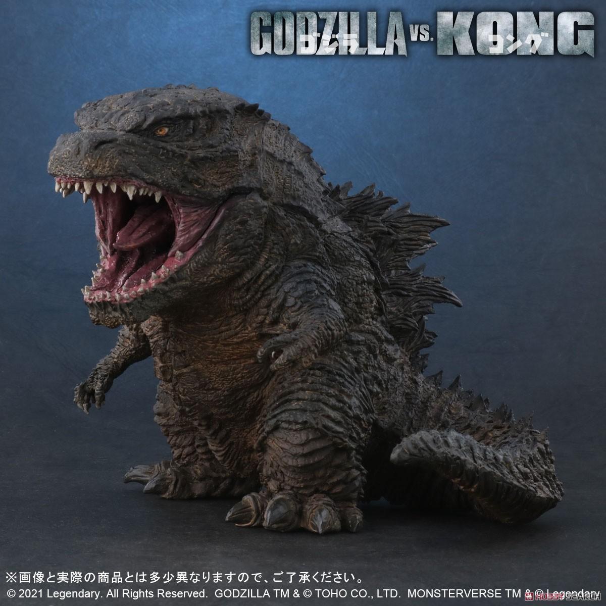 デフォリアル『GODZILLA FROM GODZILLA VS. KONG(2021)』ゴジラvsコング デフォルメ完成品フィギュア-001