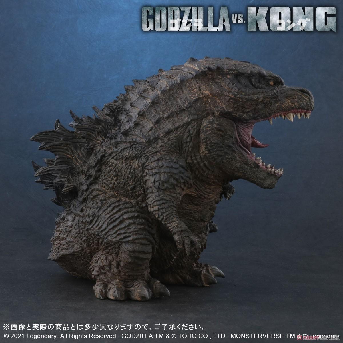 デフォリアル『GODZILLA FROM GODZILLA VS. KONG(2021)』ゴジラvsコング デフォルメ完成品フィギュア-002